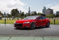 Rent Tesla Model S in Dubai Image