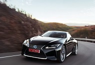 Lexus LC500h, a Car with Two Electric Motors Implemented image