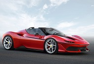 Let Yourself Surprised by a Ferrari J50 in Dubai image
