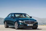 "Mercedes E-Class Won the ""Best Business Car"" Award Image"