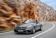Rent Mercedes-Benz SLK in Dubai Image