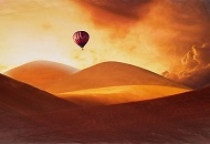 Admire Dubai from a Hot Air Balloon image