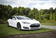 Rent Tesla S in Dubai Image