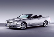 Rent Mercedes CLK in Dubai Image