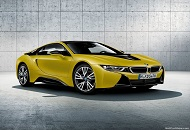 Enjoy the new BMW I8 Protonic Frozen Yellow Edition image
