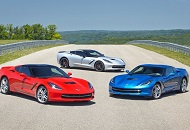 Rent Corvette Stingray in Dubai Image