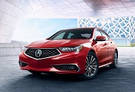 2017 Acura TLX, a Mid-Size Luxury Car in Dubai Image